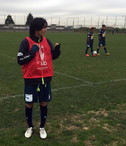 Tuấn Anh nén đau, ghi bàn khi đá tập ở Nhật Bản - 1