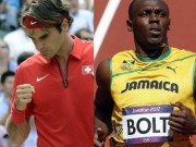 Thể thao - Bí quyết giữ sức của Federer, Usain Bolt