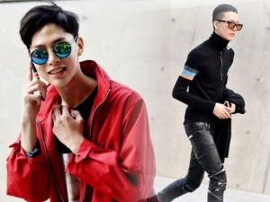 Thời trang - Học phái mạnh châu Á mặc đẹp xuống phố ngày lạnh