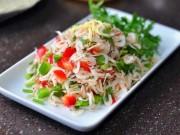 Ẩm thực - Nộm tép tươi dễ làm ngon cơm