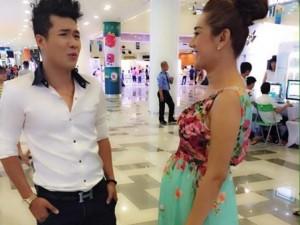 """Lâm Chi Khanh """"dở khóc dở cười"""" vì ảnh mang bầu"""