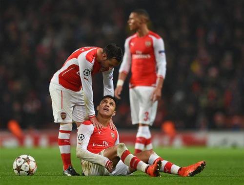 Bão chấn thương càn quét, Arsenal khó vượt vũ môn - 2