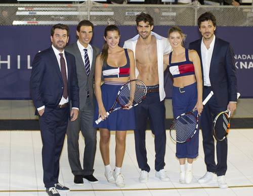 """Nadal """"đánh tennis cởi đồ"""" cùng bồ cũ Puyol - 4"""