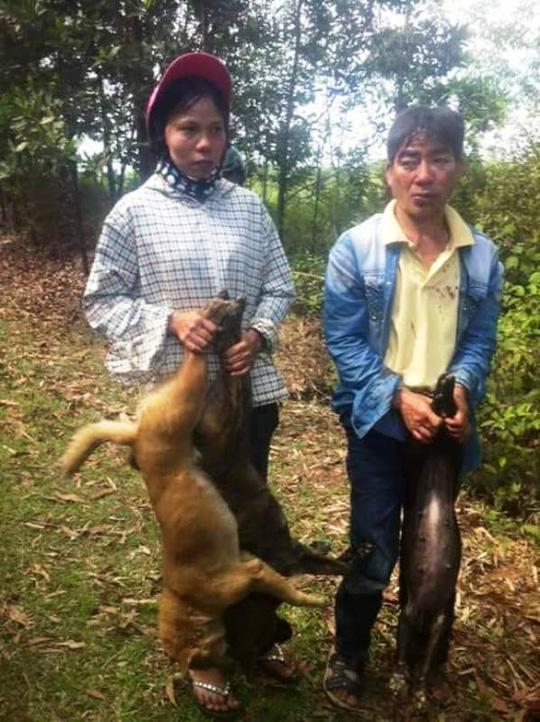 Truy đuổi, đánh trọng thương hai vợ chồng trộm chó - 1