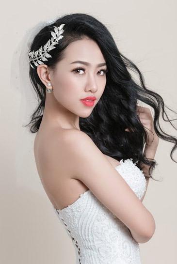 Hotgirl Joxy Thùy Linh đẹp tựa thiên thần trong bộ ảnh cưới - 1