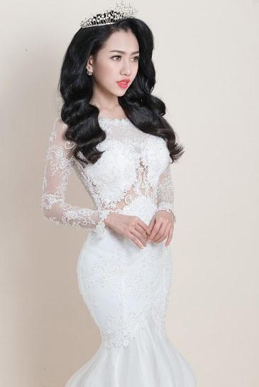 Hotgirl Joxy Thùy Linh đẹp tựa thiên thần trong bộ ảnh cưới - 7