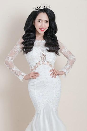 Hotgirl Joxy Thùy Linh đẹp tựa thiên thần trong bộ ảnh cưới - 8