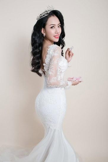 Hotgirl Joxy Thùy Linh đẹp tựa thiên thần trong bộ ảnh cưới - 9