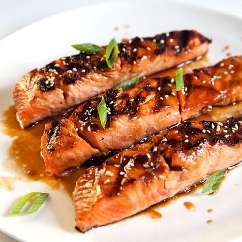 Cá hồi nướng cam nóng hổi đưa cơm ngày lạnh - 5