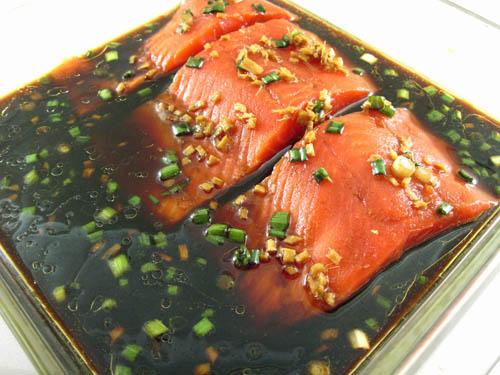 Cá hồi nướng cam nóng hổi đưa cơm ngày lạnh - 2