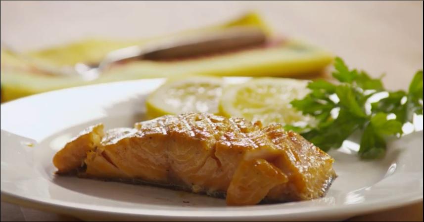 Cá hồi nướng cam nóng hổi đưa cơm ngày lạnh - 4
