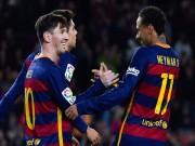 """Bóng đá - """"M-S-N"""" siêu khủng, Barca sắp phá kỷ lục của Real"""