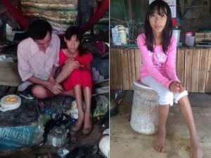 Bạn trẻ - Cuộc sống - Ước mơ của bé gái hái sen kiếm tiền nuôi cha bạo bệnh