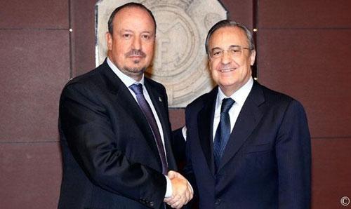 """Perez """"yêu"""" Zidane nhưng không """"trảm"""" Benitez - 1"""