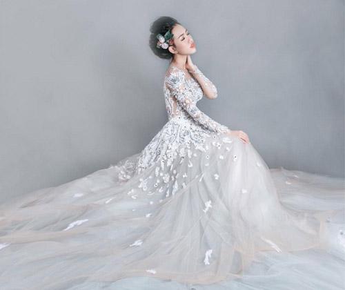 Hotgirl Joxy Thùy Linh đẹp tựa thiên thần trong bộ ảnh cưới - 13