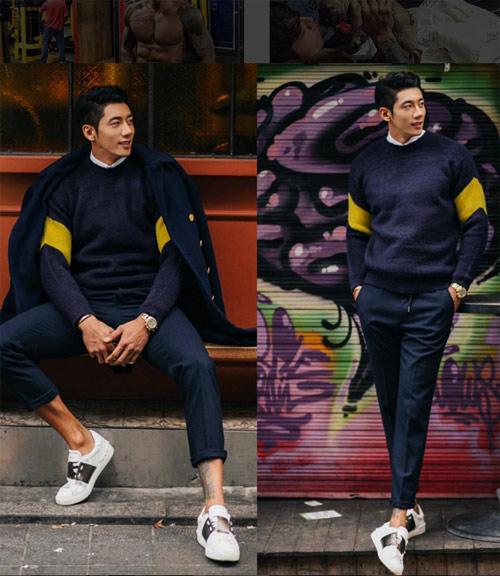 """Gu ăn mặc ngắm là mê của """"soái ca"""" lưỡng tính xứ Hàn - 18"""