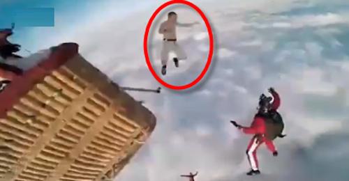 """Nhảy dù như phim """"bom tấn"""" của Hollywood - 1"""