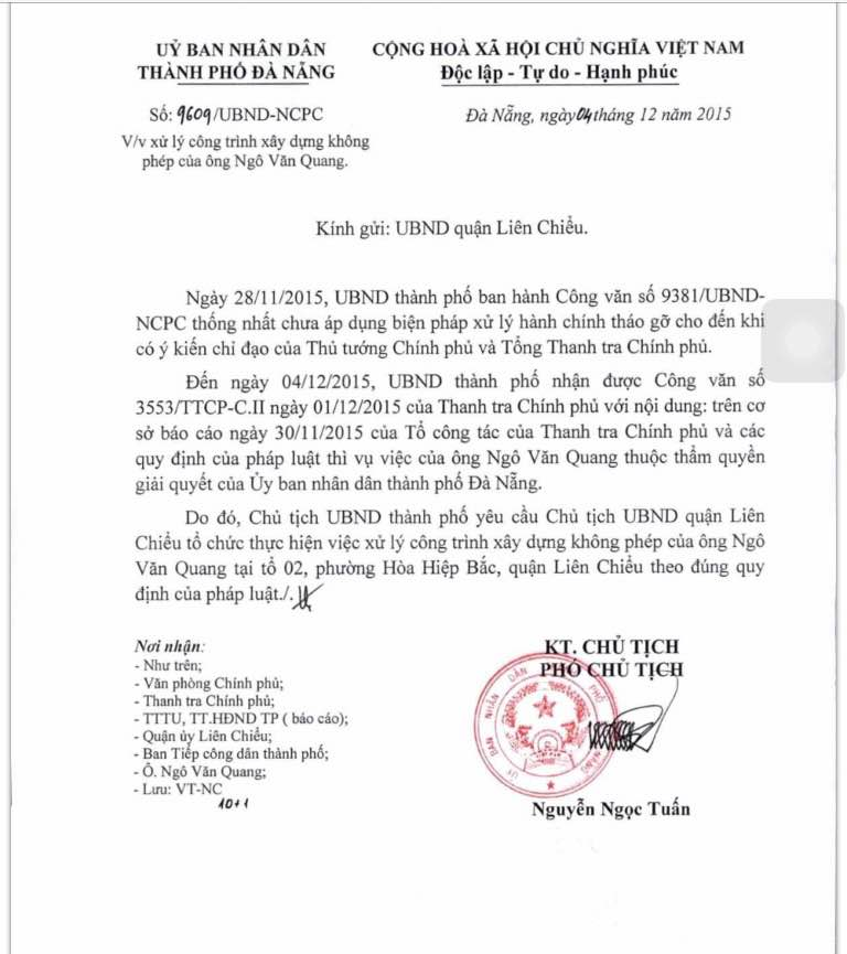 """Bí thư, Chủ tịch Đà Nẵng hạ lệnh """"trảm"""" biệt phủ 100 tỷ - 1"""