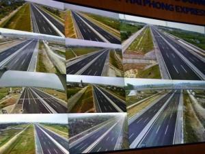 Tin tức trong ngày - Cao tốc HN- HP: Camera soi rõ phương tiện cách xa 1km