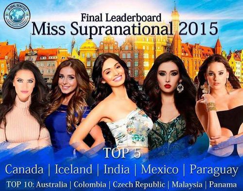 Đại diện Paraguay đăng quang Hoa hậu Siêu Quốc gia - 2