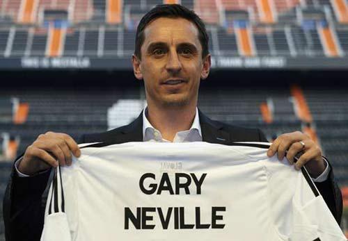 "Valencia – Barca: Gary Neville ""né đòn"" - 1"