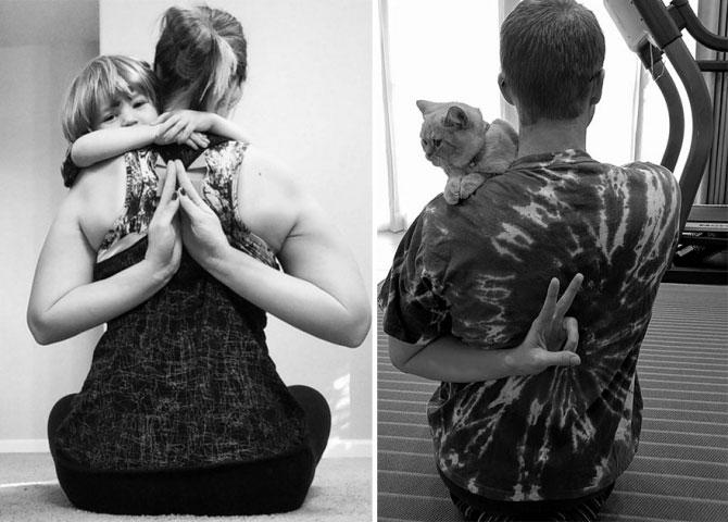 Chụp ảnh với mèo để làm quà sinh nhật tặng em gái - 7