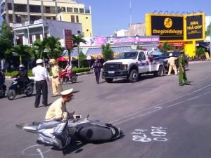 Tin tức trong ngày - Thực nghiệm hiện trường vụ Viện trưởng VKS gây tai nạn