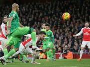 Bóng đá - Arsenal - Sunderland: Tội đồ và người hùng