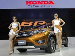 Chi tiết mẫu Honda BR-V 7 chỗ ngồi mới ra mắt