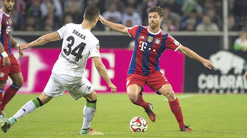video gladbach vs bayern - 1