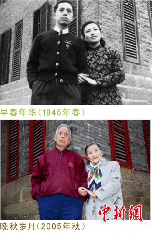 Cặp đôi tái tạo ảnh cưới nhân kỷ niệm 70 năm ngày cưới - 5