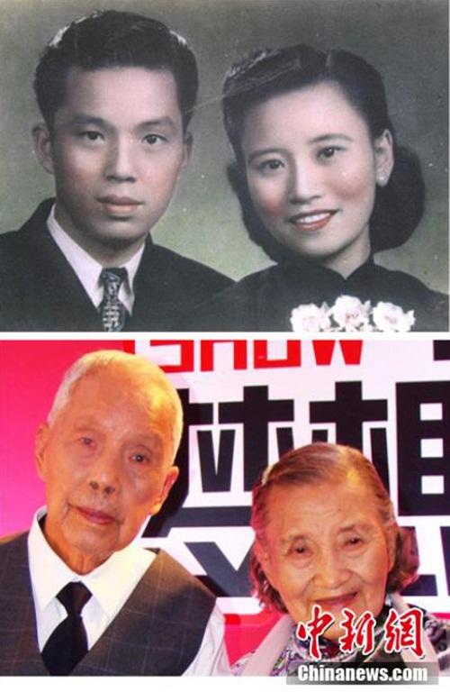 Cặp đôi tái tạo ảnh cưới nhân kỷ niệm 70 năm ngày cưới - 6