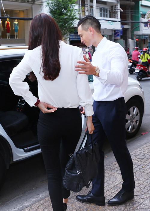 Thanh Hằng hộ tống vợ Bình Minh đi sự kiện - 7