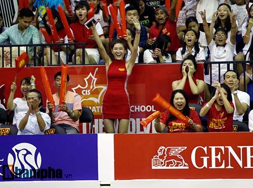 """Người đẹp Thái Lan """"đốt nóng"""" sân bóng rổ Việt Nam - 5"""