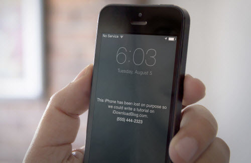 Những việc phải làm ngay lập tức khi mất iPhone - 1
