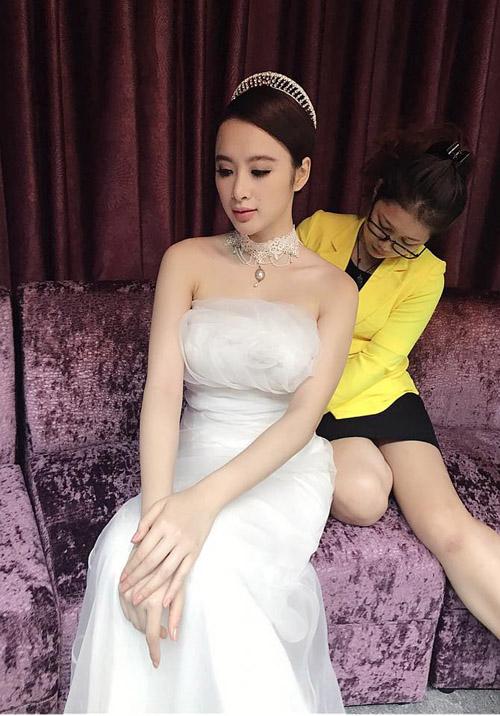 Facebook sao 6/12: Angela Phương Trinh làm cô dâu - 2