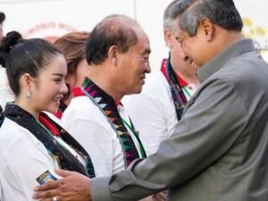 Ca nhạc - MTV - 3 sao Việt vinh dự gặp tổng thống, nguyên thủ nước ngoài