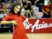"""Thể thao - Người đẹp Thái Lan """"đốt nóng"""" sân bóng rổ Việt Nam"""