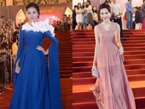 Đặng Thu Thảo, Vân Trang nổi bật trên thảm đỏ đêm bế mạc LHP VN 19