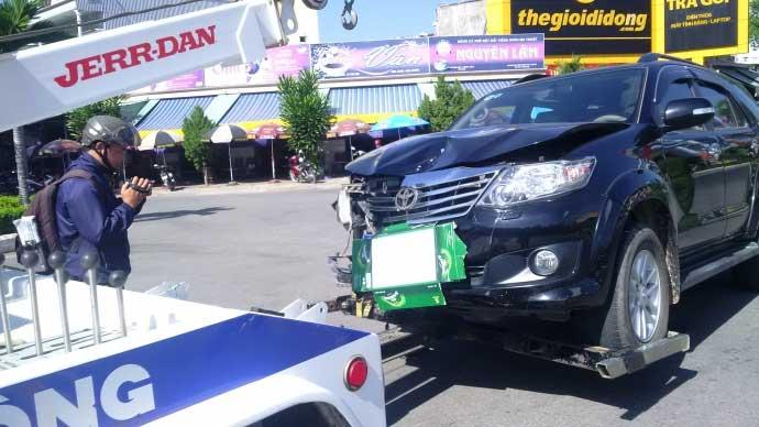 Viện trưởng KSND say, đâm xe liên hoàn là rất nghiêm trọng - 1