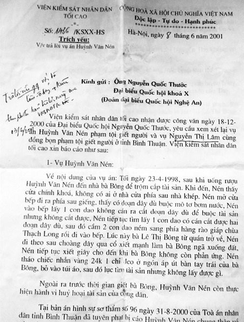 Án oan Huỳnh Văn Nén: VKSND Tối cao xác minh như thế nào? - 2