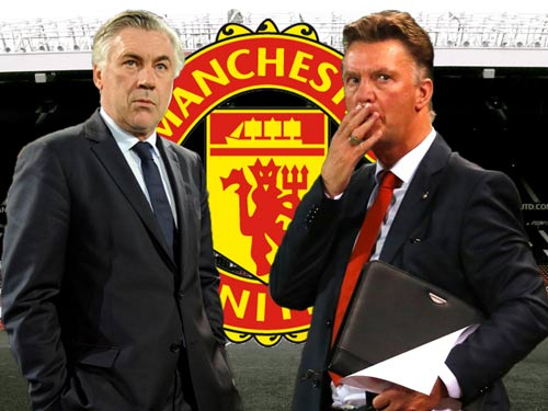 Van Gaal coi chừng, Ancelotti thích dẫn dắt MU - 1