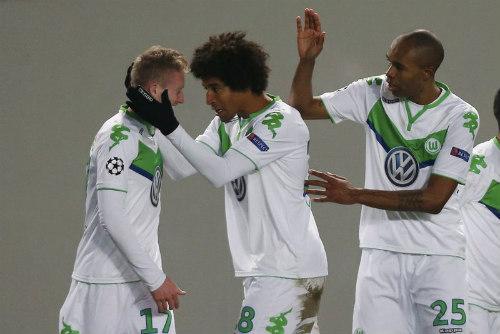 Wolfsburg vs M.U - 2