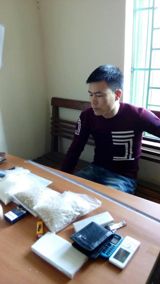 Bắt giữ đối tượng vận chuyển 3kg ma túy - 1