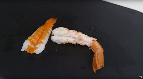 Cách làm Sushi hình con cá đánh lừa được cả mèo - 6