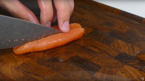 Cách làm Sushi hình con cá đánh lừa được cả mèo - 7