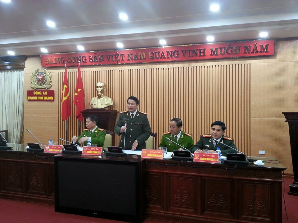 Công an HN công bố kết quả điều tra thảm án ở Thạch Thất - 1