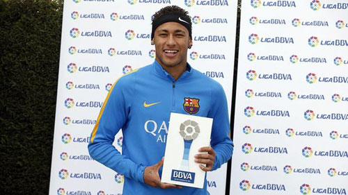 Thi đấu chói sáng, Neymar đi vào lịch sử Barca - 1