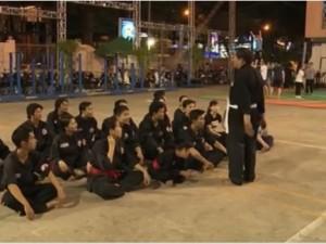 Bạn trẻ - Cuộc sống - Lớp học võ cổ truyền miễn phí thu hút nhiều bạn trẻ