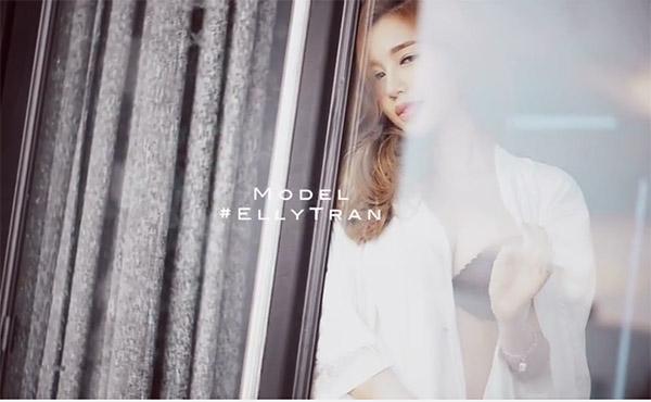 """""""Bỏng mắt"""" với clip chụp ảnh gợi cảm của Elly Trần - 6"""